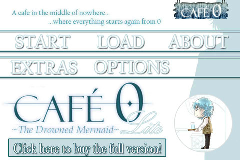 CAFE 0 ~The Drowned Mermaid~ Lite Games Main Character