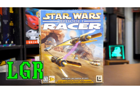 LGR - Star Wars Episode I Racer - PC Game Review - YouTube
