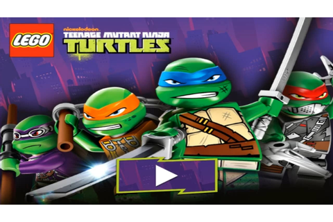 LEGO TEENAGE MUTANT NINJA TURTLES - Shell Shocked | TMNT ...