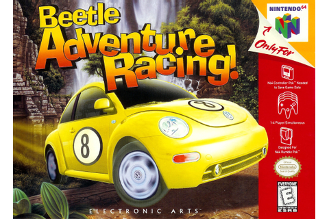 Beetle Adventure Racing Nintendo 64 Game