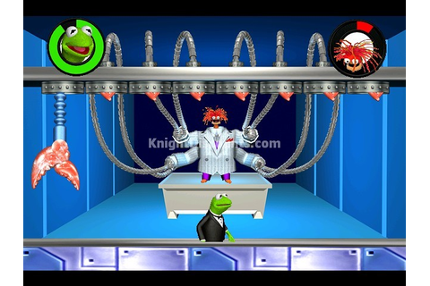 SPY MUPPETS LICENSE TO CROAK Kermit the Frog PC Game XP ...