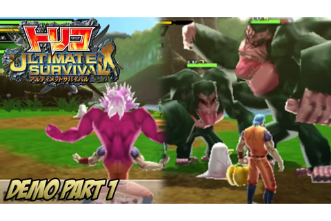 Toriko: Ultimate Survival - Demo ~ Part 1 - YouTube