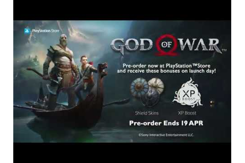 God of War Pre-order Trailer | PlayStation™Store - YouTube