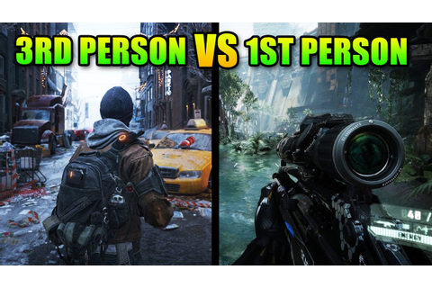 First Person Shooters vs Third Person Shooters - YouTube