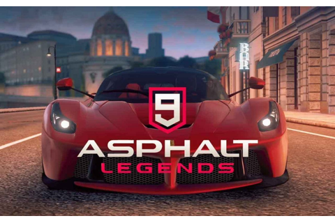 Best Free iOS and Android Game: Asphalt 9 Legends