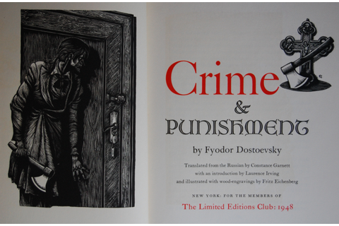 crime and punishment – The George Macy Imagery