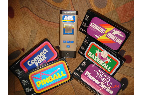 Retro Treasures: Milton Bradley Microvision & games