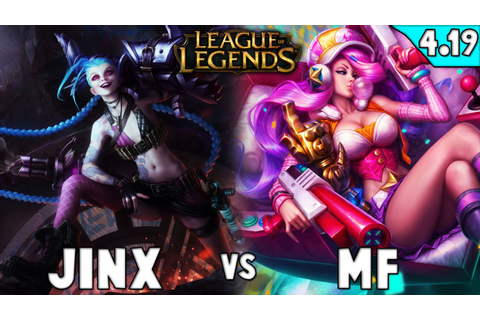 "League of Legends - ""Arcade Miss Fortune"" [ADC vs Jinx ..."