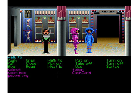 Zak McKracken and the Alien Mindbenders (Floppy DOS v2) Game