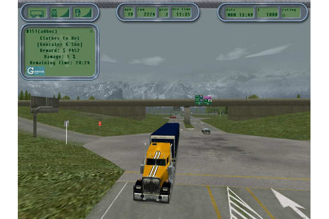 Full Free Game Download: Hard Truck 18 Wheels Of Steel PC ...