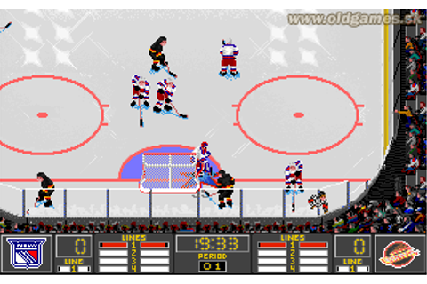 NHL Hockey 95 Download NHL 95 for PC CD-ROM, DOSBox ...