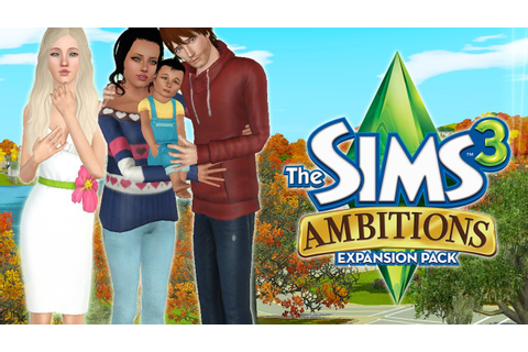 Let's Play the Sims 3 Ambitions! Part 8: New Baby - YouTube
