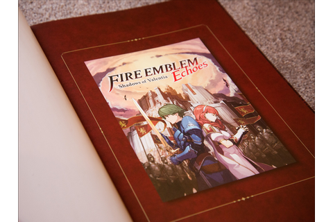 Fire Emblem Echoes: Shadows of Valentia Limited Edition ...
