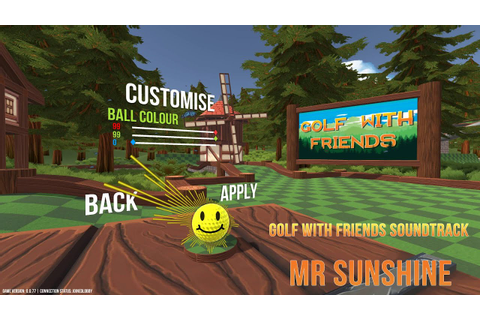 Golf With Your Friends Soundtrack - Mr Sunshine (Main Menu ...