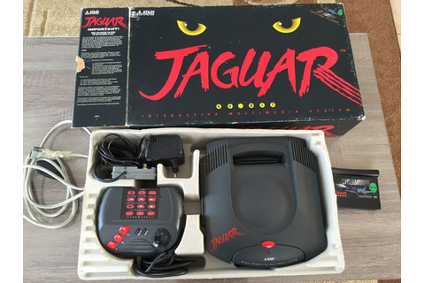 Atari jaguar 64-bit console complete box including ...
