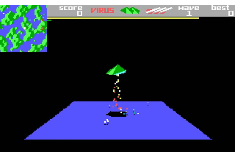 Download Zarch (a.k.a. Virus) shooter for DOS (1988 ...