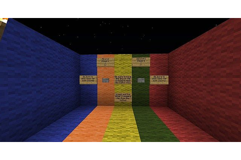 Minecraft Mini-Game: Rainbow Warriors Minecraft Project