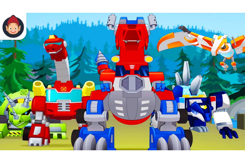 Transformers Rescue Bots Dino Island iOS/Android Storybook ...