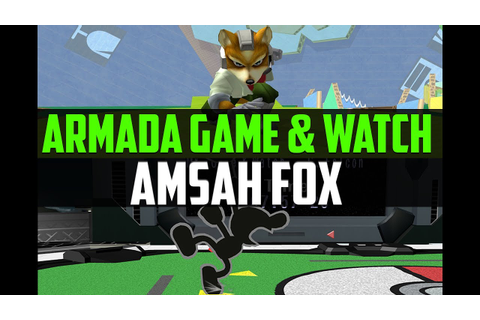 Armada (Game & Watch) vs. Amsah (Fox) - BO5 Melee ...