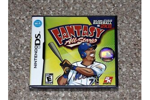Major League Baseball 2K8 Fantasy All-Stars Nintendo DS ...