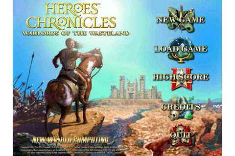 Heroes Chronicles Warlords of the Wastelands Download Free ...