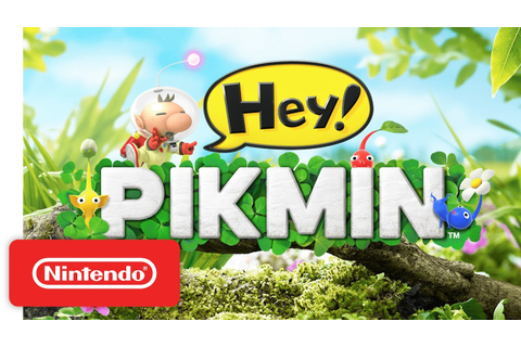 Hey! PIKMIN Lift-Off Trailer - Nintendo 3DS - YouTube