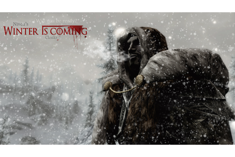 Winter Is Coming Cloaks Survival Warmth Quick and Dirty ...