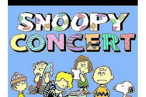 SNES Snoopy Concert Password 8st Point - YouTube