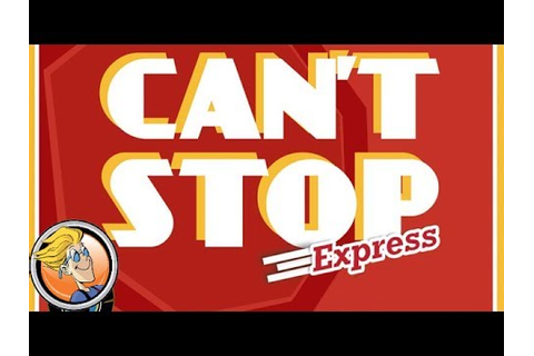 Can't Stop Express — game preview at Origins Game Fair ...