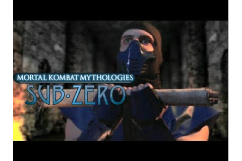 DIFFICULT ASS GAME! [MK MYTHOLOGIES: SUB-ZERO] - YouTube