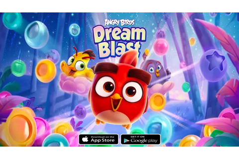 Angry Birds Dream Blast - Android/iOS Gameplay (BY Rovio ...