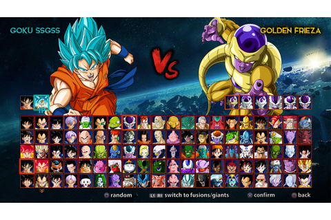 dragon ball game roster by almej on DeviantArt