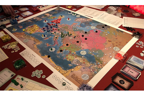 The Europa Universalis board game is shaping up to be a ...
