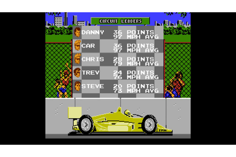 Danny Sullivan's Indy Heat (Every NES Game) - YouTube
