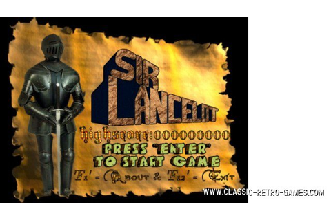 Download Sir Lancelot & Play Free | Classic Retro Games