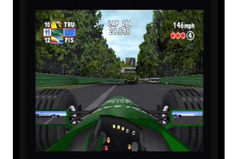 F1 2000 - Melbourne - Sony Playstation - YouTube