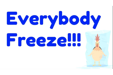 Everybody Freeze - A classroom song with a built in game ...