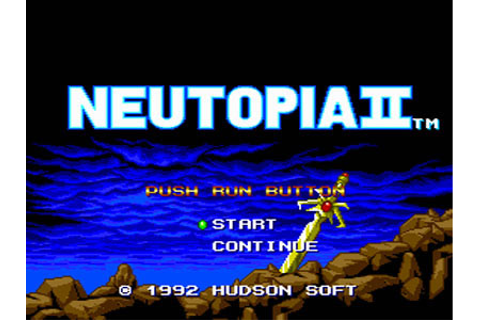 Neutopia II Review for TurboDuo (1991) - Defunct Games
