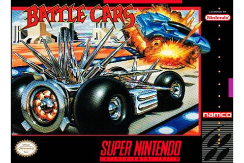 Battle Cars SNES Super Nintendo