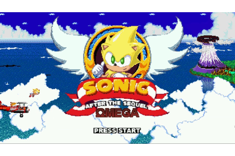 Sonic After The Sequel Omega - A Great Sonic Fan Game ...