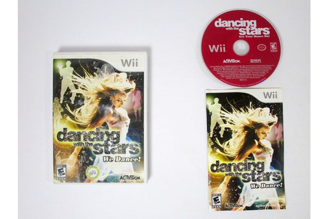 Dancing With The Stars We Dance game for Wii (Complete ...
