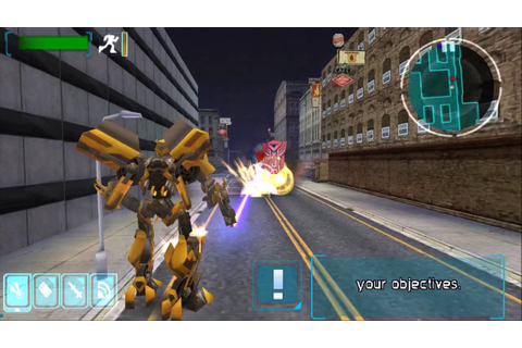 Transformers: The Game - Gameplay HD PSP - (PPSSPP) - YouTube