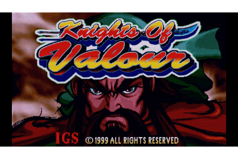 Knights of Valour (Arcade Game Intro) - YouTube