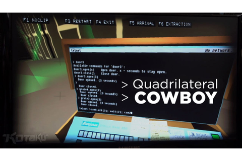 Quadrilateral Cowboy at PAXEast 2013 - YouTube