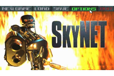 SkyNET gameplay (PC Game, 1996) - YouTube