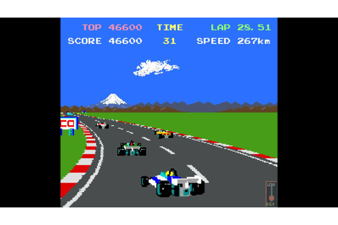 Arcade Game: Pole Position II (1983 Namco/Atari) - YouTube