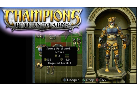 Champions: Return to Arms ... (PS2) - YouTube