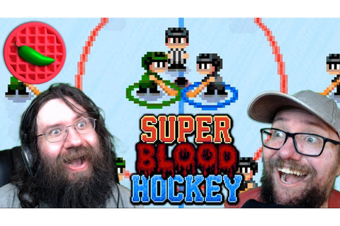 FACE CAM FACE-OFF! -- Super Blood Hockey (Local Versus ...