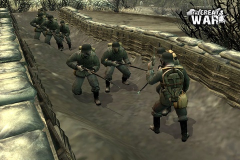 Trenches and cold steel news - The Great War 1918 mod for ...