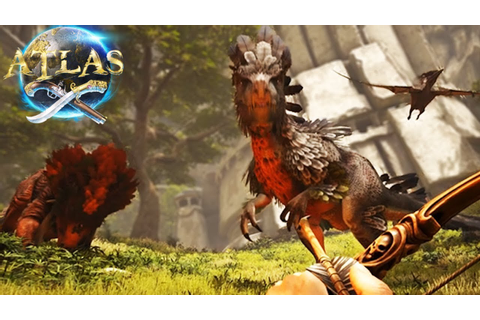 Atlas - NEW DINOSAURS! New Atlas Gameplay & Creatures ...